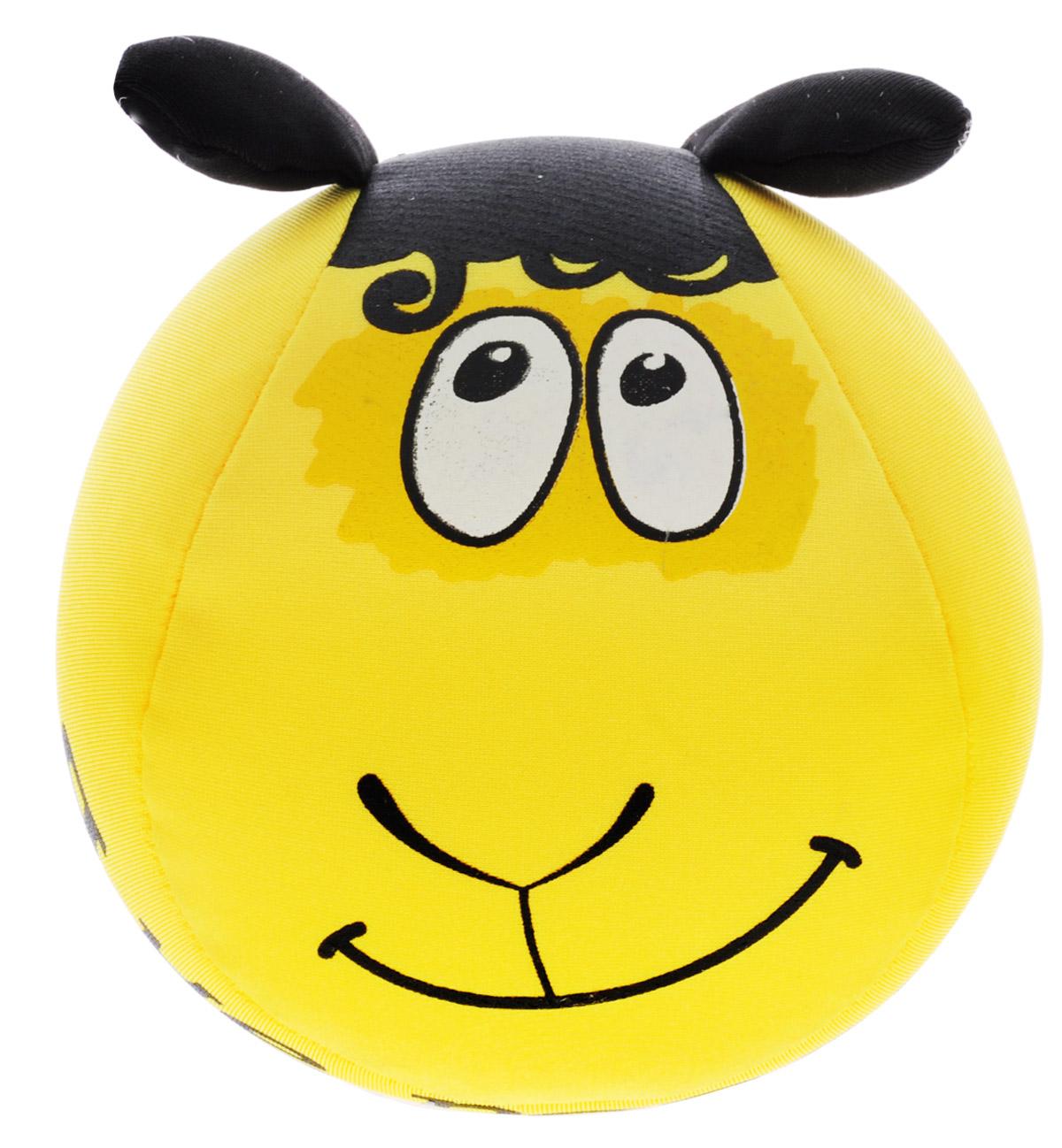 Home Queen Мягкая игрушка-антистресс Овечка цвет желтый 10 см