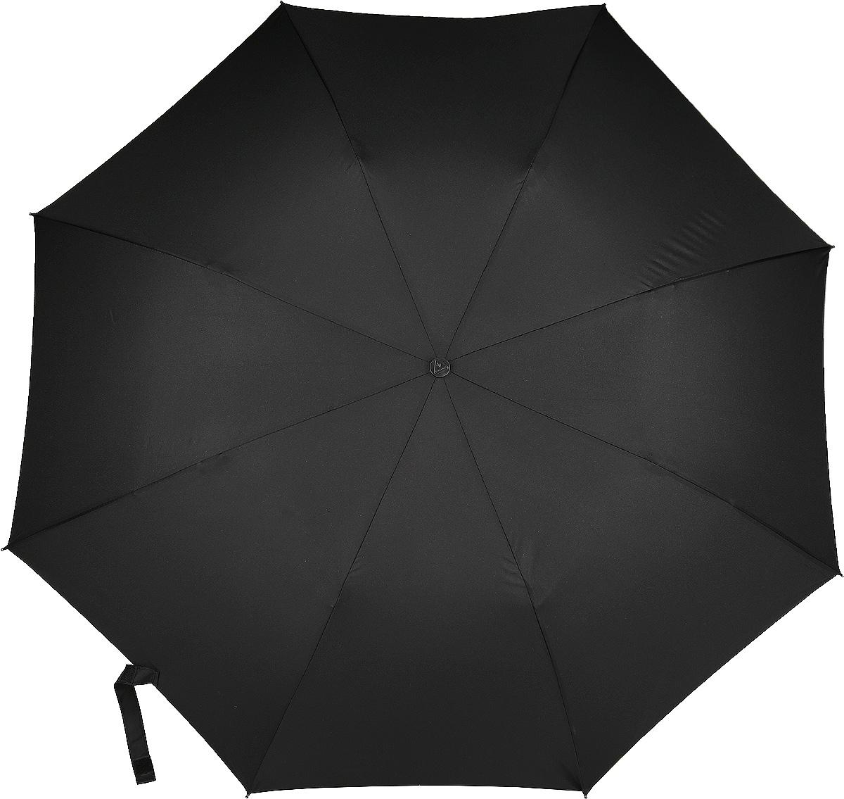 Зонт мужской Fulton Windbreaker, полуавтомат, цвет: черный. U801-01U801-01 BlackПолуавтоматический зонт Fulton Windbreaker - отличный аксессуар для стильного мужчины. Каркас зонта включает 8 спиц из стали. Стержень также изготовлен из стали. Однотонный купол выполнен из прочного полиэстера. Изделие дополнено удобной пластиковой рукояткой с каучуковым покрытием. Зонт оснащен полуавтоматическим механизмом: купол открывается нажатием на кнопку на ручке и закрывается вручную до характерного щелчка. Модель застегивается с помощью хлястика на липучку. В комплект входит чехол. Такой зонт надежно защитит вас от дождя.