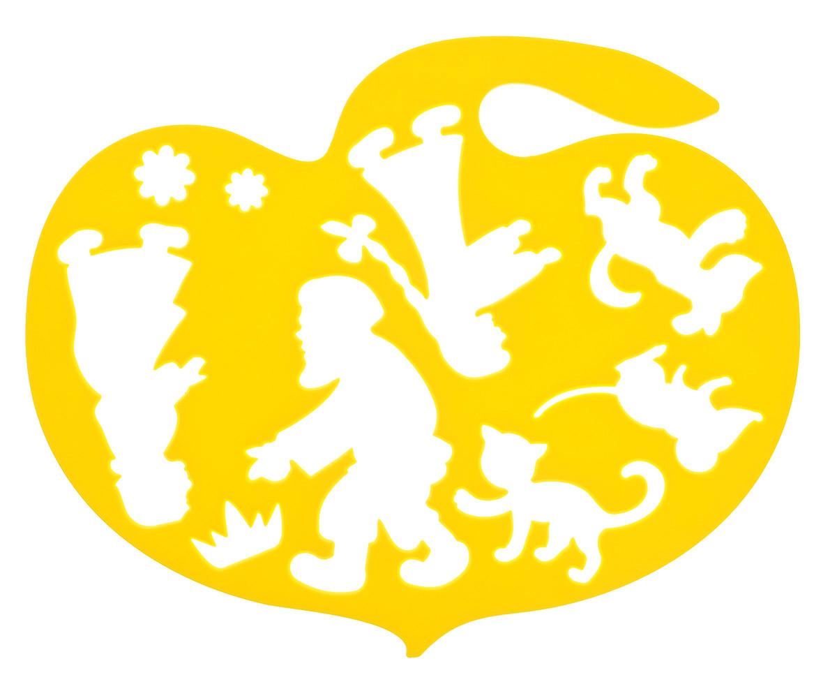 Луч Трафарет фигурный Репка цвет желтый20С 1360-08_желтыйТрафарет фигурный Луч Репка, выполненный из безопасного пластика, предназначен для детского творчества. С его помощью ребенок может нарисовать любимых сказочных персонажей. На фигурном трафарете размещены контуры героев сказки Репка. Можно воссоздать в памяти ребенка прочитанную сказку, нарисовав и раскрасив всех персонажей истории. Трафарет можно использовать для рисования отдельных героев и сюжетов с ними, удобно использовать для изготовления аппликаций. Трафареты предназначены для развития у детей мелкой моторики и зрительно-двигательной координации, навыков художественной композиции и зрительного восприятия.