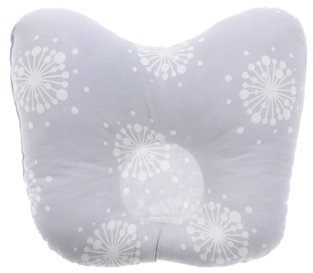 Rabby Baby Подушка анатомическая для младенцев На лужайке цвет серый 27 х 20 смAN15944/5Анатомическая подушка для младенцев Rabby Baby На лужайке изготовлена из 100% хлопка. Наполнитель - синтепон в гранулах. Подушка компактна и удобна для пеленания малыша и кормления на руках, она также незаменима для сна ребенка в кроватке и комфортна для использования в коляске на прогулке. Углубление в подушке фиксирует правильное положение головы ребенка. Подушка помогает правильному формированию шейного отдела позвоночника.