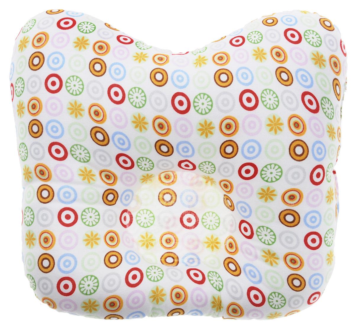 Rabby Baby Подушка анатомическая для младенцев Домики 27 х 20 смAN16374/3Анатомическая подушка для младенцев Rabby Baby Домики изготовлена из 100 % хлопка. Наполнитель - синтепон в гранулах. Подушка компактна и удобна для пеленания малыша и кормления на руках, она также незаменима для сна ребенка в кроватке и комфортна для использования в коляске на прогулке. Углубление в подушке фиксирует правильное положение головы ребенка. Подушка помогает правильному формированию шейного отдела позвоночника.