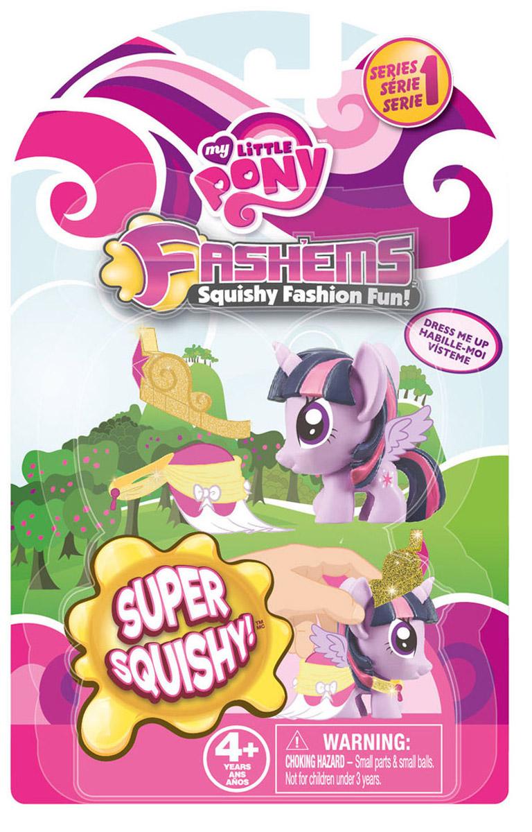 My Little Pony Игрушка-мялка Fashems цвет сиреневый51626-0000012-01Игрушка детская Мой маленький Пони из полимерных материалов, с жидким наполнителем, обладающая свойствами изменять свою структуру при приложении к ней физической силы и возвращаться в исходную форму.