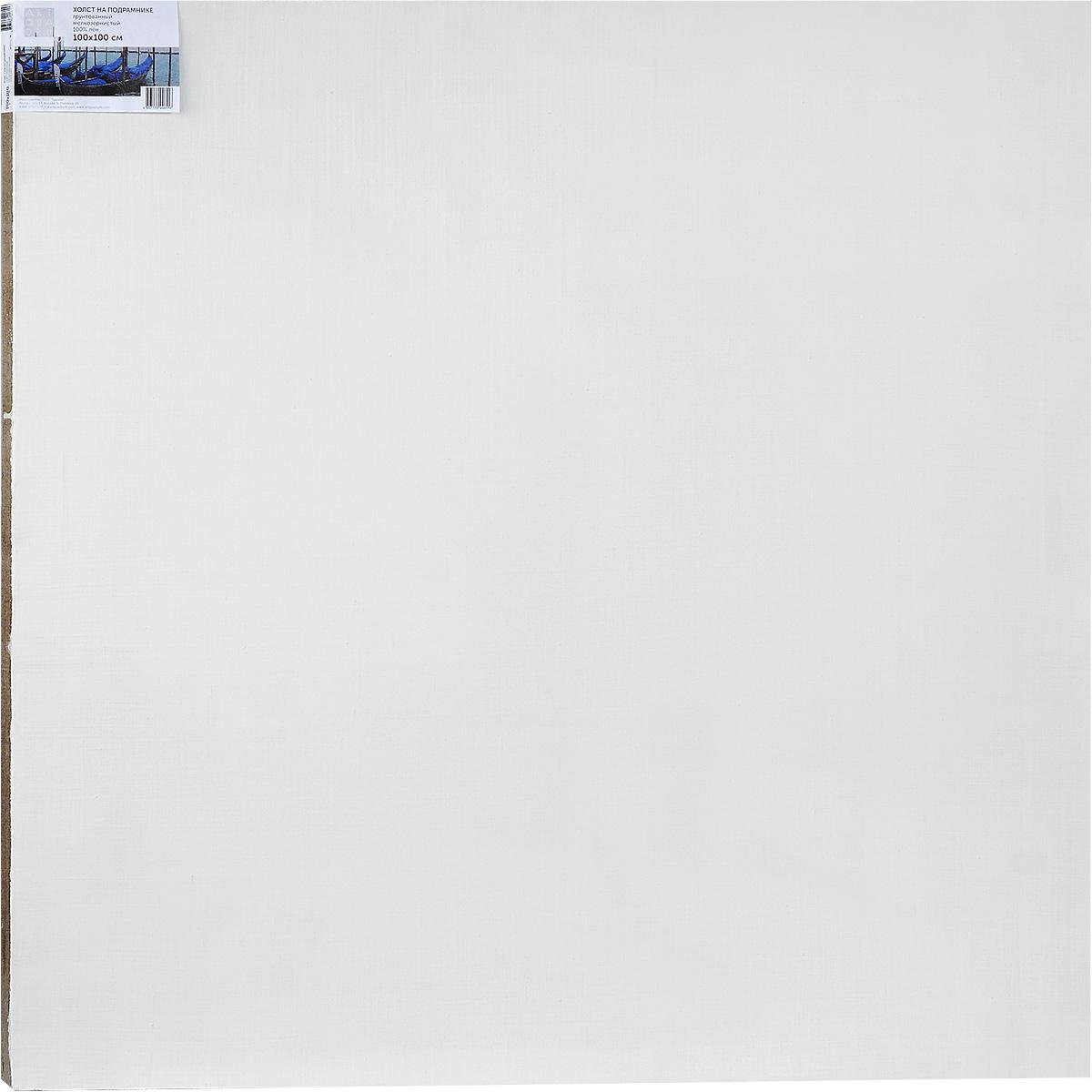 Холст ArtQuaDram Мелкозернистый на подрамнике, грунтованный, 100 х 100 смТ0003811Холст на деревянном подрамнике ArtQuaDram Мелкозернистый изготовлен из 100% натурального льна. Подходит для профессионалов и художников. Холст не трескается, не впитывает слишком много краски, цвет краски и качество не изменяются. Холст идеально подходит для масляной и акриловой живописи.