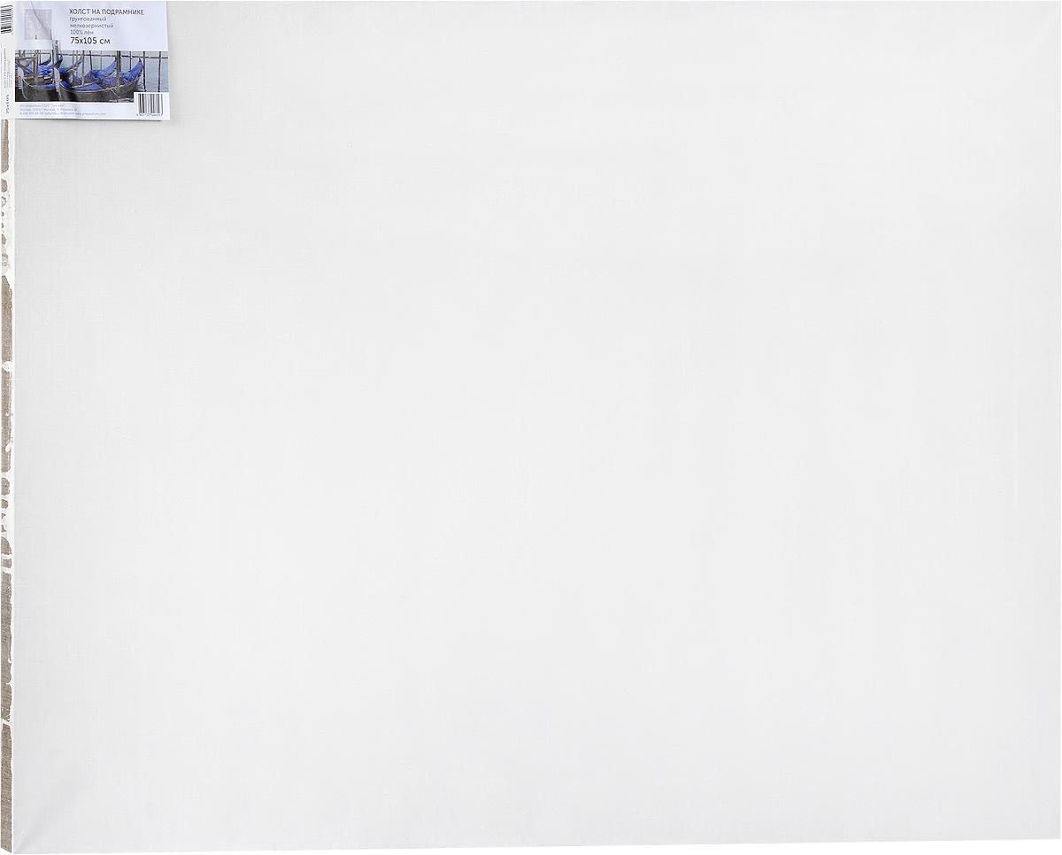 Холст ArtQuaDram Мелкозернистый на подрамнике, грунтованный, 75 х 105 смТ0010267Холст на деревянном подрамнике ArtQuaDram Мелкозернистый изготовлен из 100% натурального льна. Подходит для профессионалов и художников. Холст не трескается, не впитывает слишком много краски, цвет краски и качество не изменяются. Холст идеально подходит для масляной и акриловой живописи.