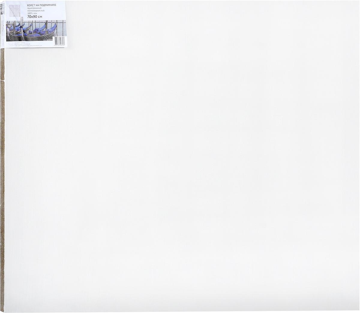 Холст ArtQuaDram Мелкозернистый на подрамнике, грунтованный, 70 х 90 смТ0003852Холст на деревянном подрамнике ArtQuaDram Мелкозернистый изготовлен из 100% натурального льна. Подходит для профессионалов и художников. Холст не трескается, не впитывает слишком много краски, цвет краски и качество не изменяются. Холст идеально подходит для масляной и акриловой живописи.