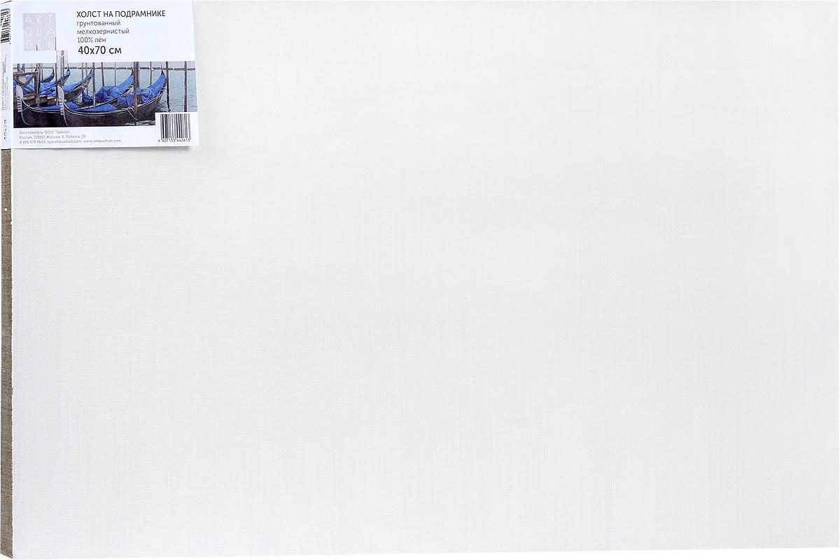 Холст ArtQuaDram Мелкозернистый на подрамнике, грунтованный, 40 х 70 смТ0003835Холст на деревянном подрамнике ArtQuaDram Мелкозернистый изготовлен из 100% натурального льна. Подходит для профессионалов и художников. Холст не трескается, не впитывает слишком много краски, цвет краски и качество не изменяются. Холст идеально подходит для масляной и акриловой живописи.