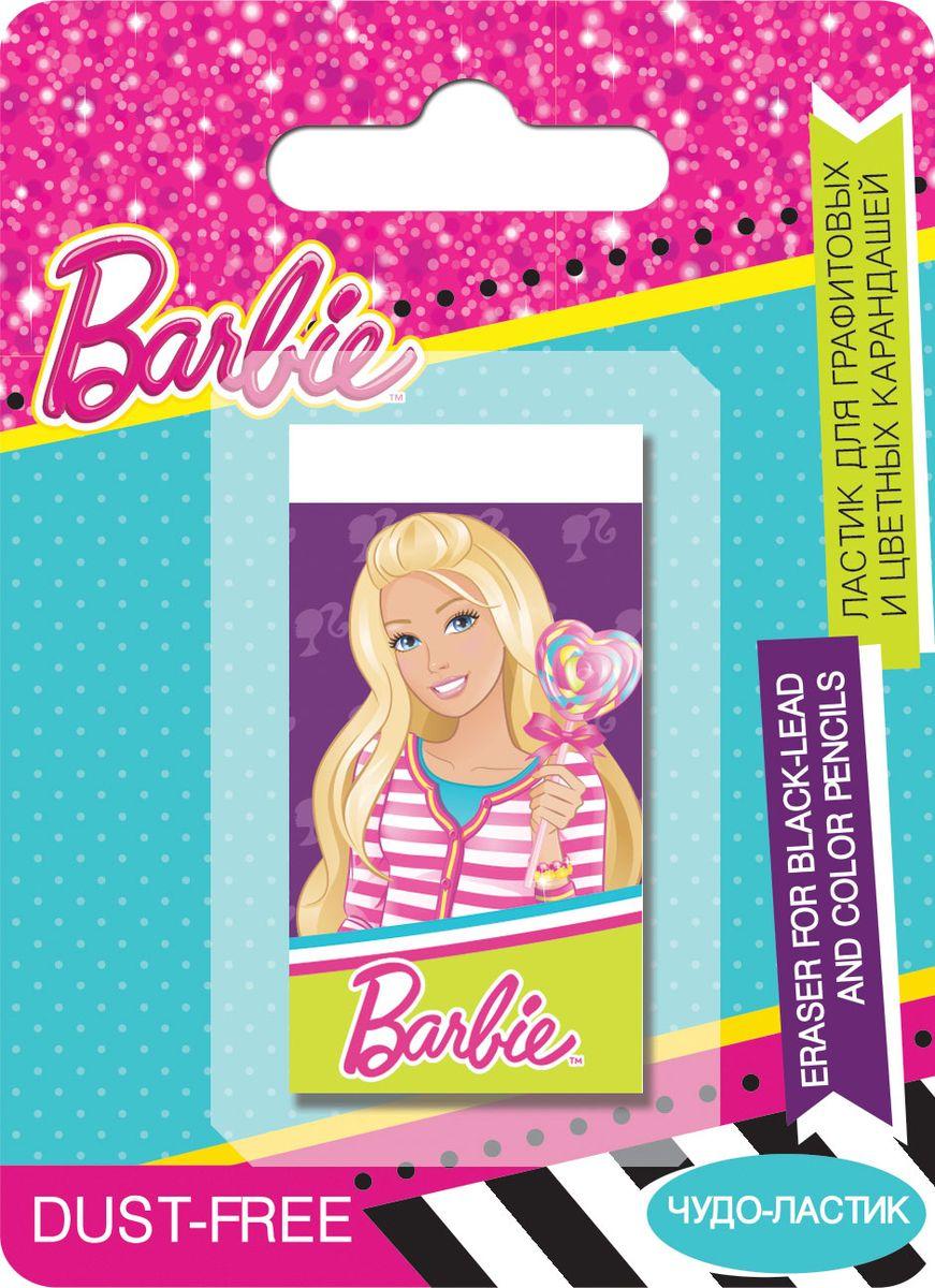 Ластик для графитовых и цветных карандашей Barbie станет незаменимым атрибутом в учебе любой юной школьницы.Ластик выполнен из качественной резины и оформлен изображением очаровательной куклы Barbie.Не рекомендуется детям до 3-х лет.