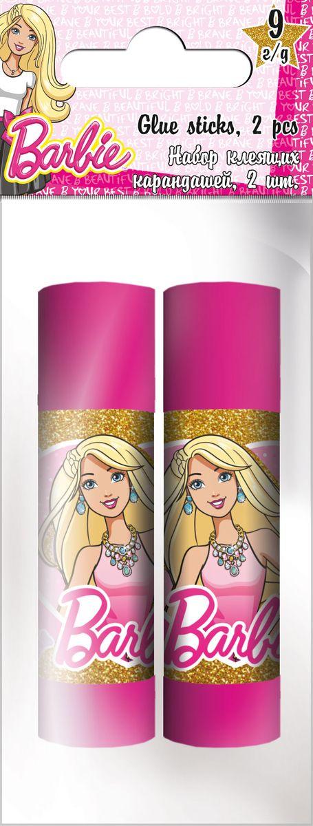Barbie Клей на основе ПВА Набор 2 шт по 9 г BarbieBRDB-US1-9G-H2Клей-карандаши на основе ПВА, для склеивания бумаги и картона, 2 флакона по 9 г; упакованы в ПП пакет с подвесом. Размер: 12 х 5 х 2 см.