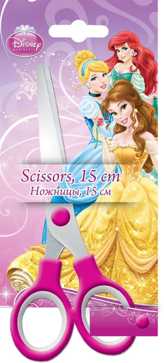 Disney Princess Ножницы 15 смPRAB-US1-SC15-BL1Ножницы Disney Princess с безопасными закругленными концами лезвий идеально подойдут для резки всех обычных материалов - бумаги, картона и ткани. Прочность и качественная заточка обеспечивают эффективную работу лезвий по всей длине. Эргономично разработанные ручки очень удобны для захвата. Стальные лезвия плотно прилегают друг к другу. На лезвии имеется гравировка в виде надписи Disney Princess. Не рекомендуется детям до 3-х лет.