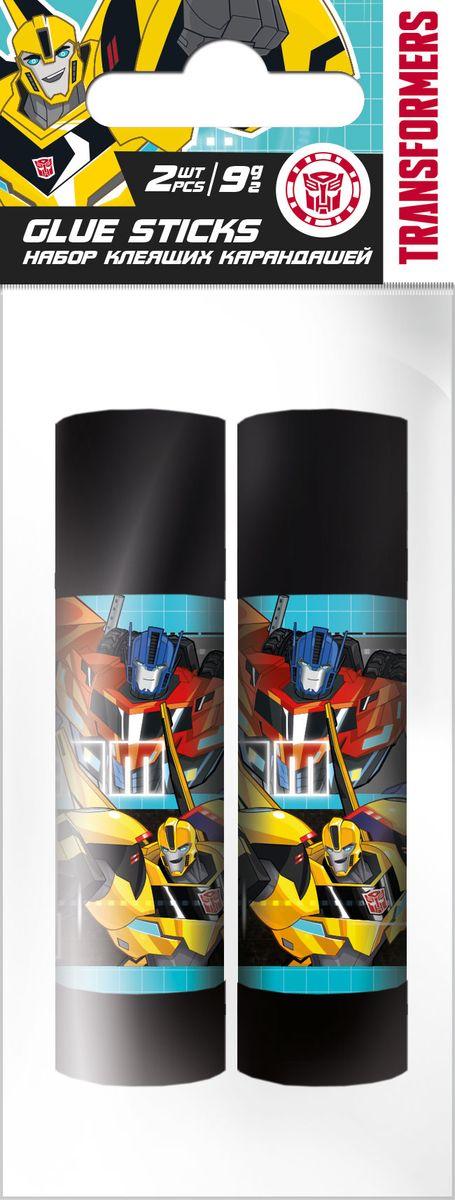 Transformers Клей на основе ПВА Набор 2 шт по 9 г TransformersTRDB-US1-9G-H2Клей-карандаши на основе ПВА, для склеивания бумаги и картона, 2 флакона по 9 г; упакованы в ПП пакет с подвесом. Размер: 12 х 5 х 2 см.