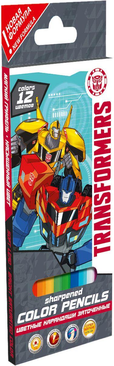 Transformers Набор цветных карандашей 12 шт