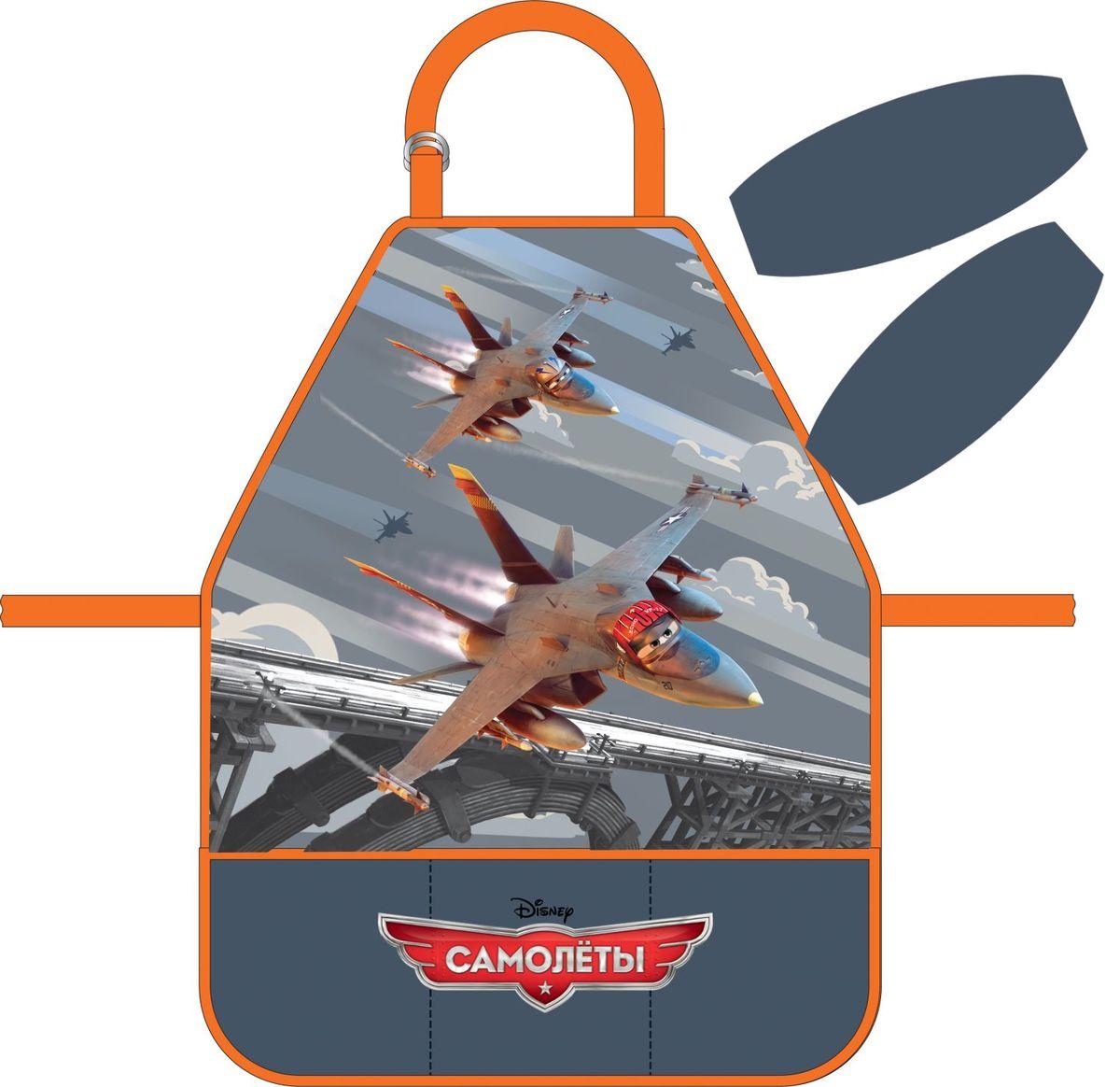 Erich Krause Фартук Flying Planes с нарукавниками39734фартук для детского творчества с нарукавниками. Нарукавники на липучках-фиксаторах. Легкая ткань с водоотталкивающей пропиткой. Фартук дополнен тремя кармашками.