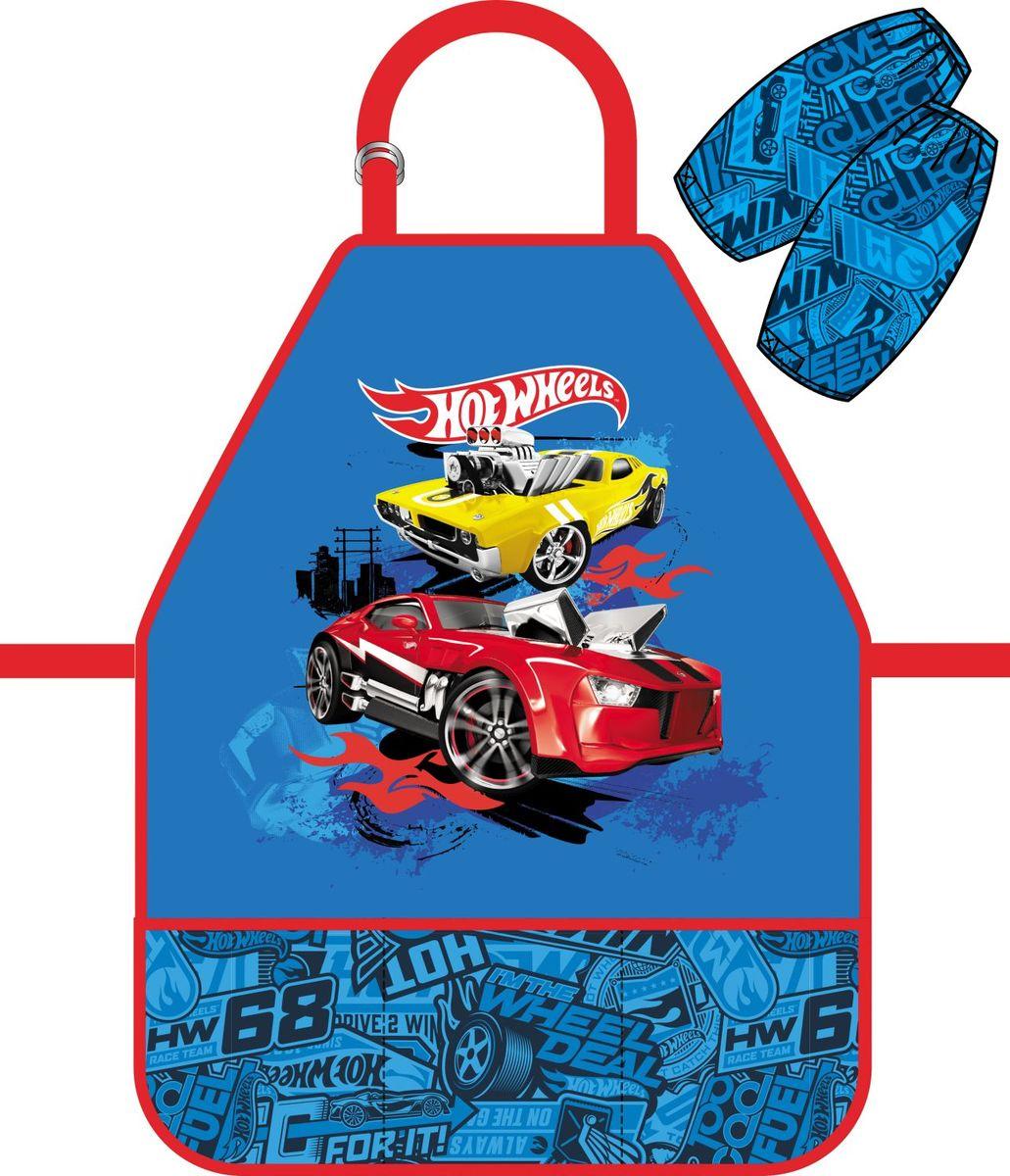 Erich Krause ФартукHot Wheels Super Car с нарукавниками39758фартук для детского творчества с нарукавниками. Нарукавники на липучках-фиксаторах. Легкая ткань с водоотталкивающей пропиткой. Фартук дополнен тремя кармашками.