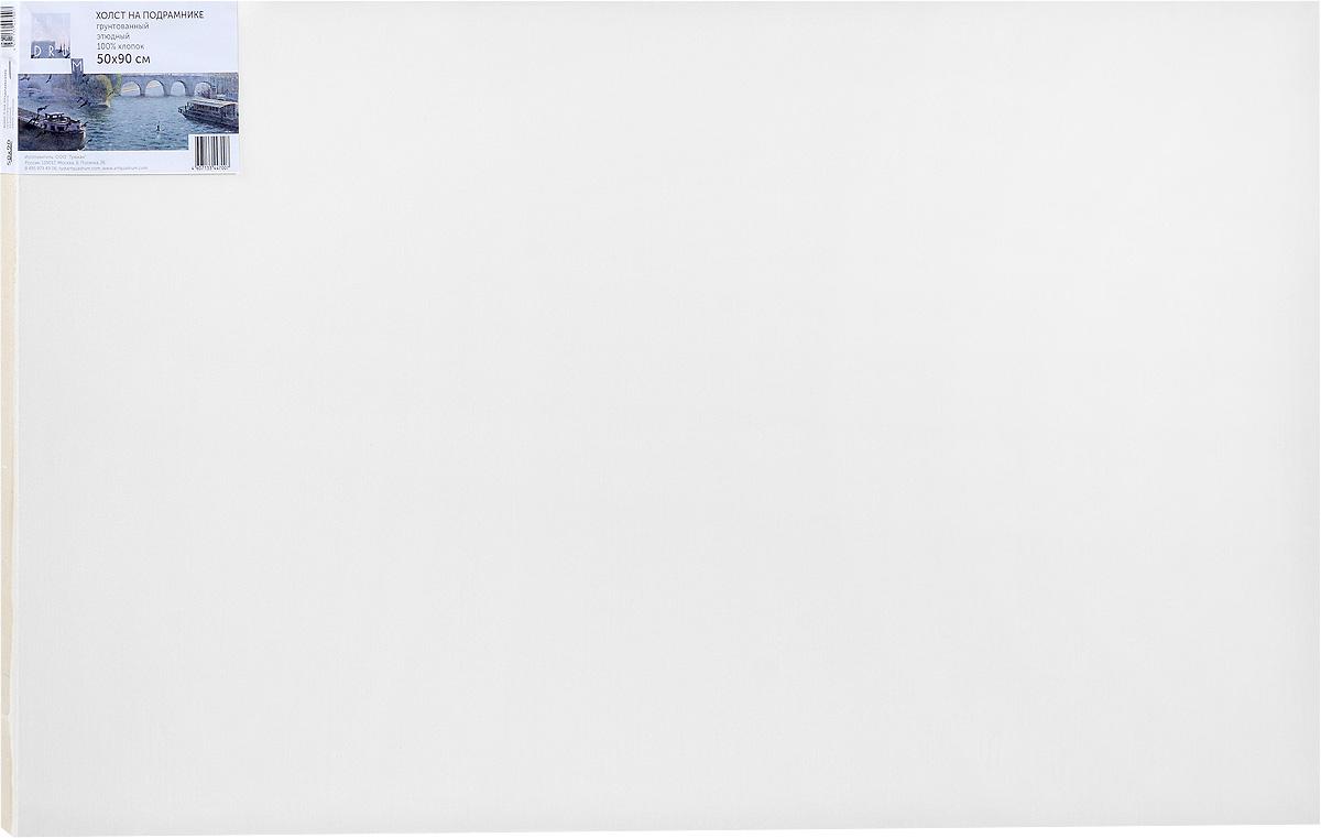 Холст ArtQuaDram Этюдный на подрамнике, грунтованный, 50 х 90 смТ0015354Холст на деревянном подрамнике ArtQuaDram Этюдный изготовлен из 100% натурального хлопка. Подходит для профессионалов и художников. Холст не трескается, не впитывает слишком много краски, цвет краски и качество не изменяются. Холст идеально подходит для масляной и акриловой живописи.