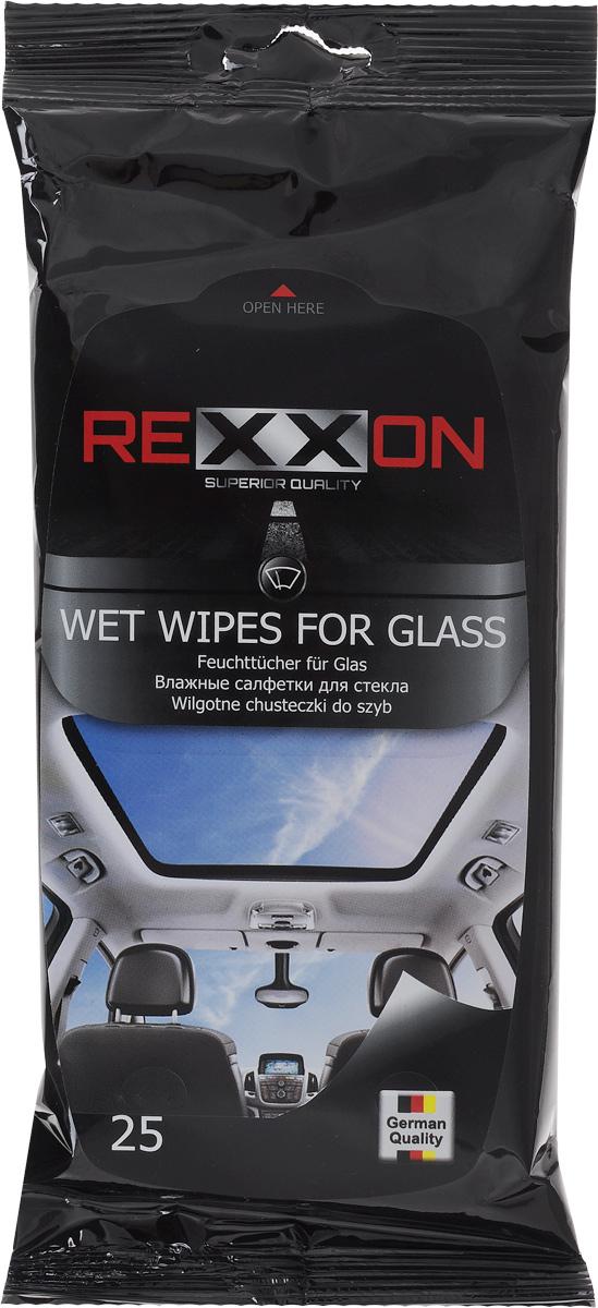 Салфетки влажные Rexxon, для стекол автомобиля, 25 шт2-1-1-1-1Влажные салфетки Rexxon предназначены для стекол, зеркал и фар автомобиля. Благодаря уникальному материалу салфетки не оставляют разводов и ворсинок. Деликатно удаляют грязь, скопившуюся пыль, масляные пятна, следы от насекомых и не оставляют разводов после применения, препятствуют запотеванию и загрязнению в будущем. Пропитывающий состав салфетки безопасен для кожи рук. Состав: нетканое полотно, вода деминерализованная, изопропаноп, композиция неионогенных ПАВ, консервант, отдушка (парфюмерная композиция). Товар сертифицирован.