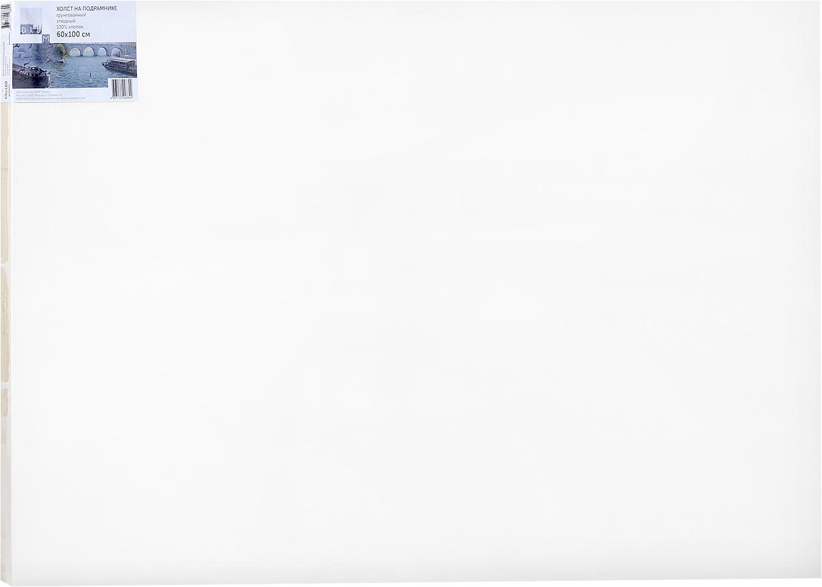 Холст ArtQuaDram Этюдный на подрамнике, грунтованный, 60 х 100 смТ0015355Холст на деревянном подрамнике ArtQuaDram Этюдный изготовлен из 100% натурального хлопка. Подходит для профессионалов и художников. Холст не трескается, не впитывает слишком много краски, цвет краски и качество не изменяются. Холст идеально подходит для масляной и акриловой живописи.