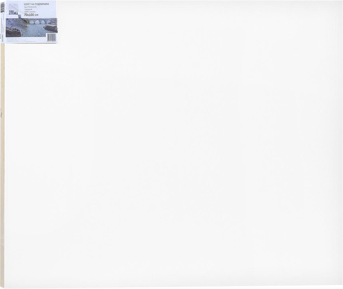 Холст ArtQuaDram Этюдный на подрамнике, грунтованный, 70 х 100 смТ0015360Холст на деревянном подрамнике ArtQuaDram Этюдный изготовлен из 100% натурального хлопка. Подходит для профессионалов и художников. Холст не трескается, не впитывает слишком много краски, цвет краски и качество не изменяются. Холст идеально подходит для масляной и акриловой живописи.