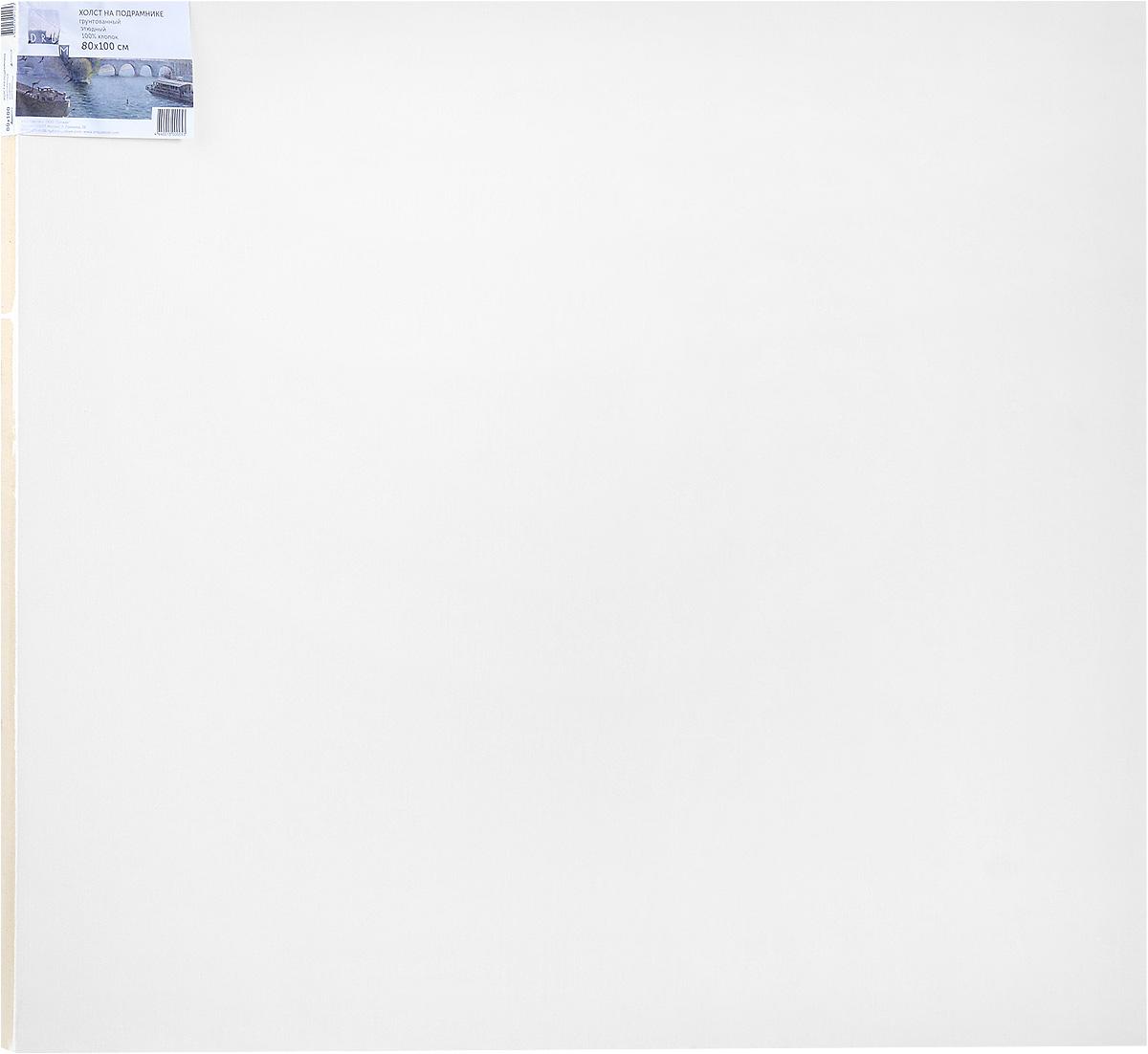 Холст ArtQuaDram Этюдный на подрамнике, грунтованный, 80 х 100 смТ0015364Холст на деревянном подрамнике ArtQuaDram Этюдный изготовлен из 100% натурального хлопка. Подходит для профессионалов и художников. Холст не трескается, не впитывает слишком много краски, цвет краски и качество не изменяются. Холст идеально подходит для масляной и акриловой живописи.