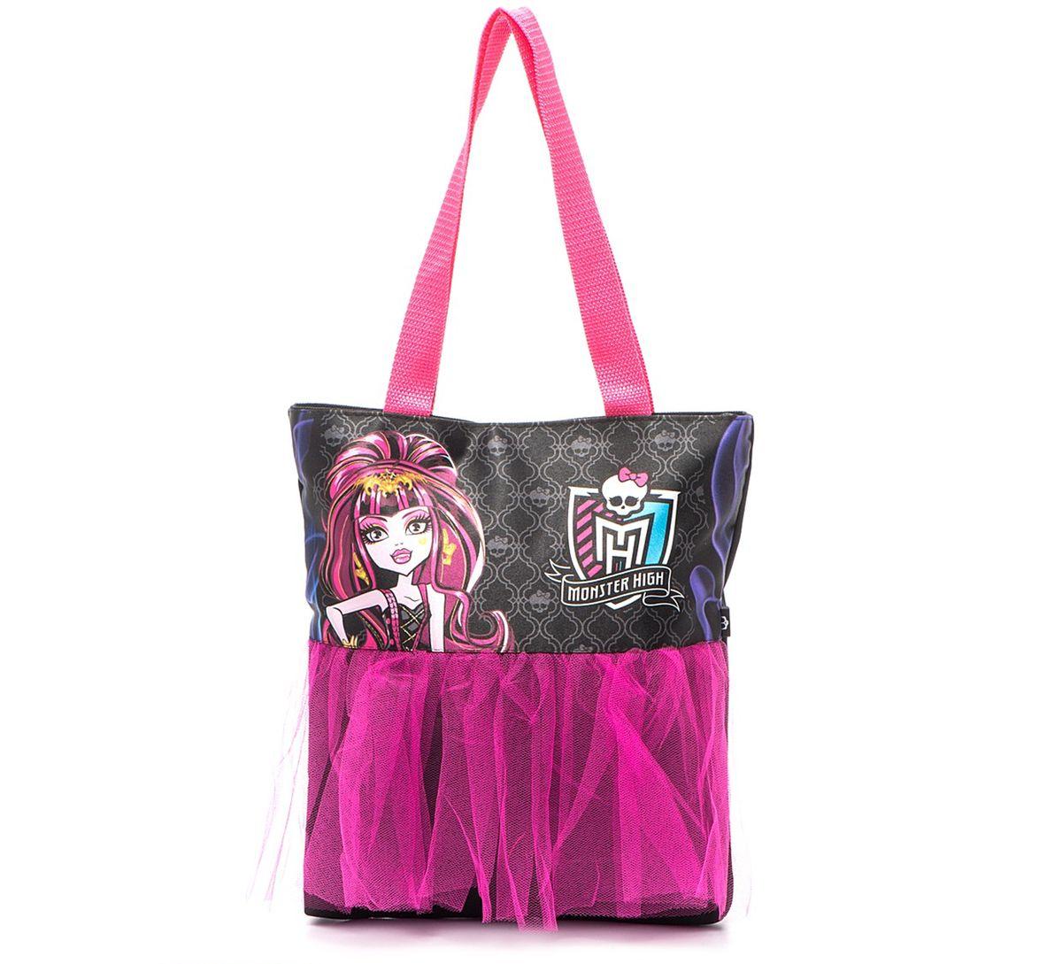 Centrum Школьная сумка Monster High 8498584985Сумка с декоративной отделкой-сеточкой Monster High, на молнии