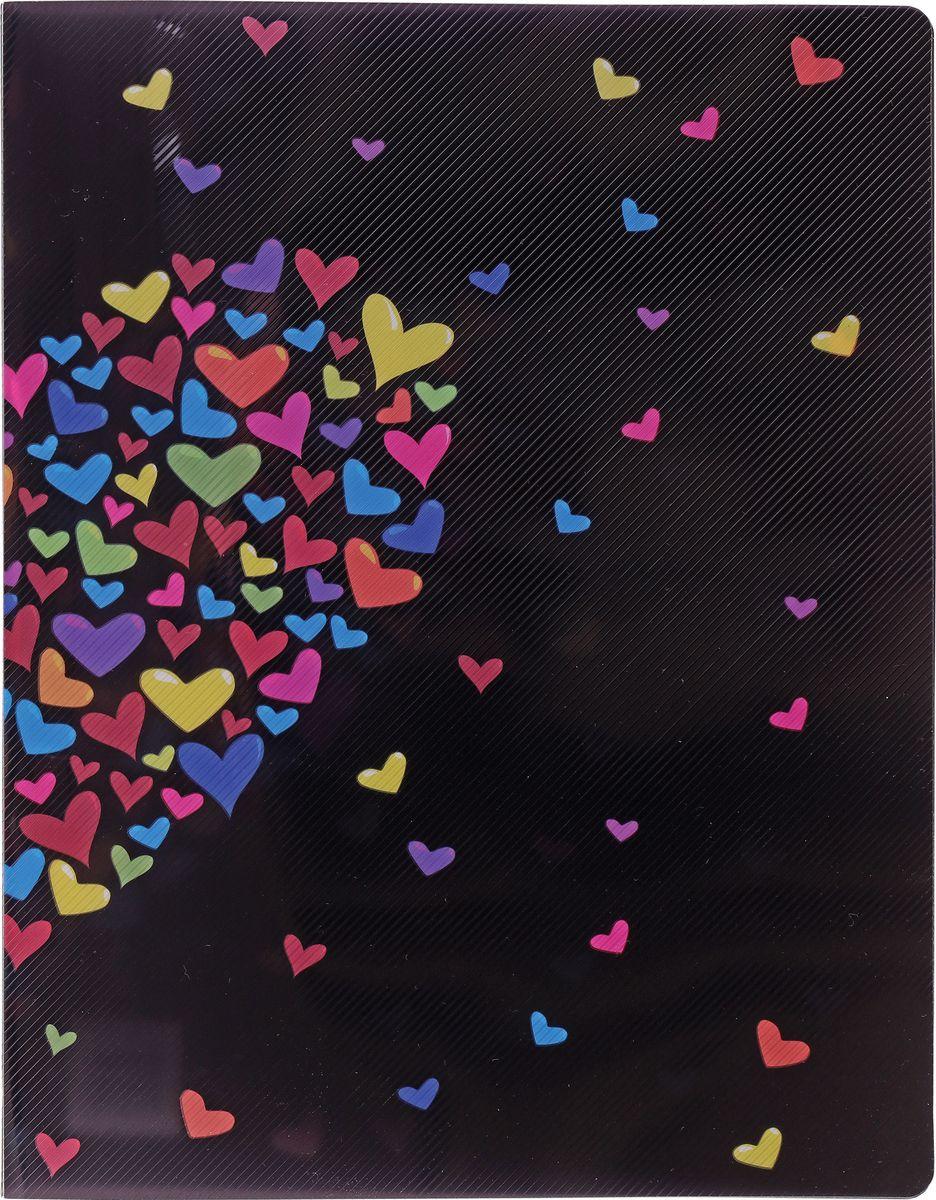 Centrum Папка на двух кольцах Сердце85456Папка Centrum Сердце на двух кольцах с закругленными уголками - это удобный и практичный офисный инструмент, предназначенный для хранения и транспортировки рабочих бумаг и документов формата А4. Папка изготовлена из непрозрачного плотного пластика и имеет прочные металлические кольца, которые надежно закрепят документы на месте. Папка Сentrum - это незаменимый атрибут для студента, школьника, офисного работника. Такая папка надежно сохранит ваши документы и сбережет их от повреждений, пыли и влаги.