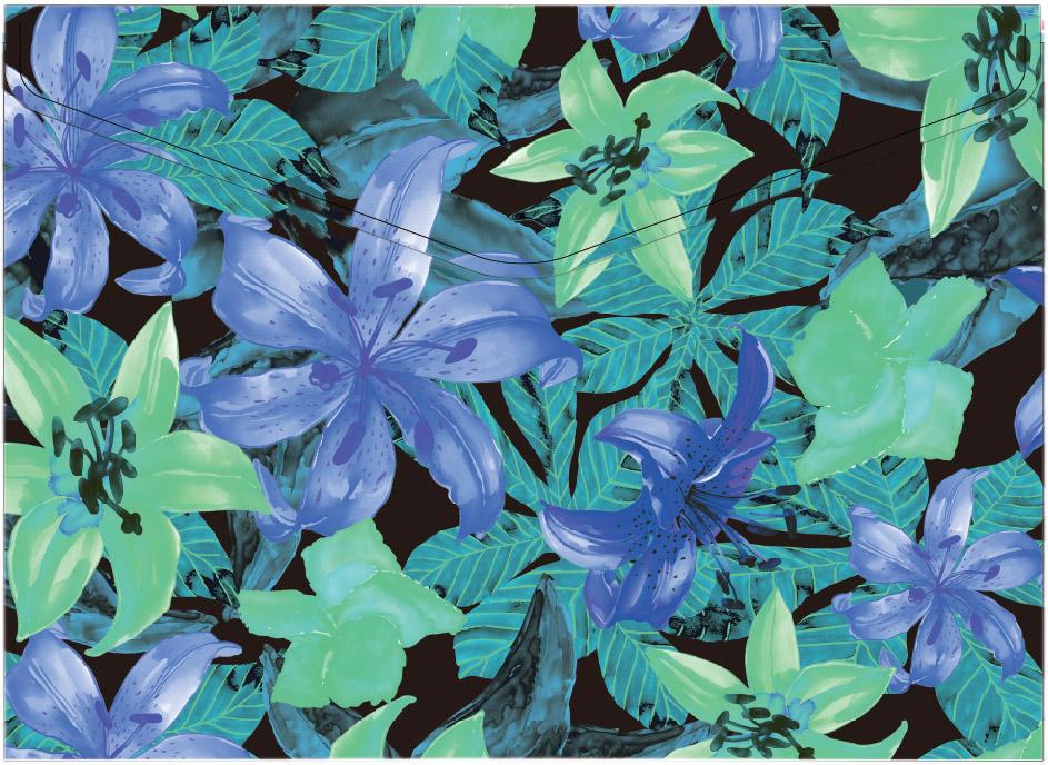 Centrum Папка-конверт Lily формат А4 с кнопкой цвет фиолетовый