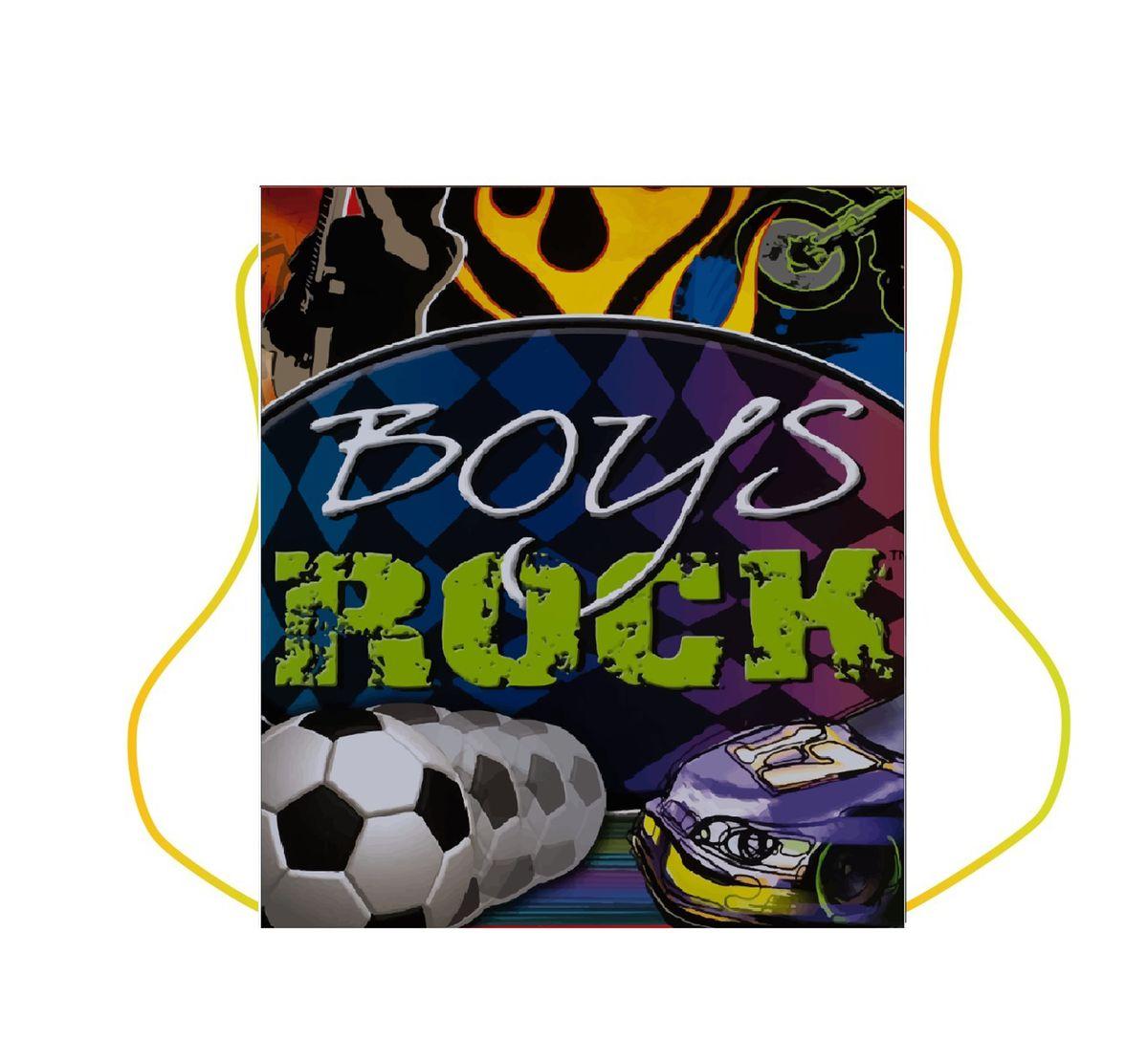 Centrum Сумка для сменной обуви Boys rock87171Мешок для обуви Boys rock, 1 отделение