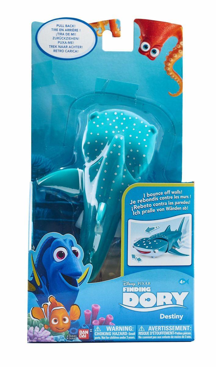 Finding Dory Фигурка 15 см функциональная36440Подтолкни и...Хэнк подожмет щупальцы и закатит глаза, акула по инерции уплывет, белуга заговорит, как в м/ф. Блистер, функция Try-Me В наборе белуги 3 x LR44
