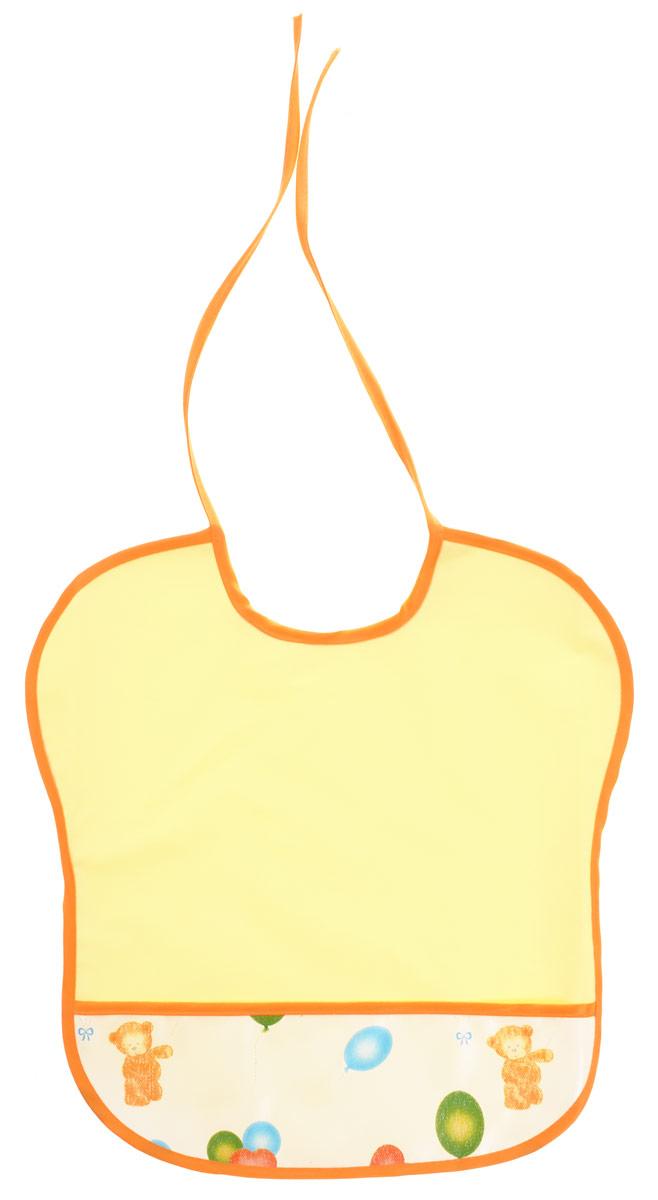 Колорит Нагрудник цвет желтый 0068