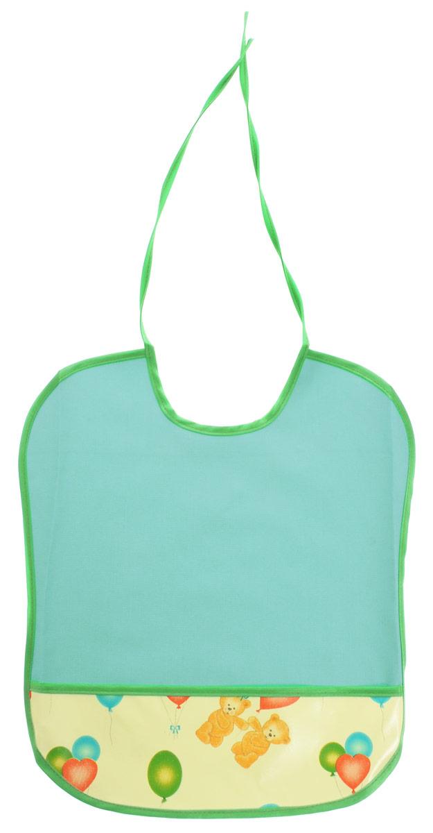 Колорит Нагрудник цвет зеленый 0068
