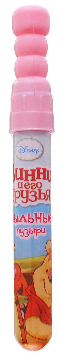 Веселая затея Мыльные пузыри Disney Винни и его друзья цвет розовый1504-0374_розовыйМыльные пузыри Веселая затея Disney. Винни и его друзья станут отличным развлечением на любой праздник! Парящие в воздухе, большие и маленькие, блестящие мыльные пузыри всегда привлекают к себе особое внимание не только детишек, но и взрослых. Веселые ребята с удовольствием забавляются и поднимают настроение всем окружающим, создавая неповторимую радостную атмосферу солнечного радостного дня. Порадуйте вашего ребенка таким замечательным подарком!
