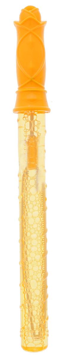 Веселая затея Мыльные пузыри Волшебная палочка цвет оранжевый