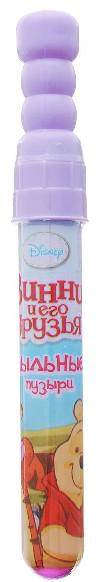 Веселая затея Мыльные пузыри Disney Винни и его друзья цвет сиреневый1504-0374_сиреневыйМыльные пузыри Веселая затея Disney. Винни и его друзья станут отличным развлечением на любой праздник! Парящие в воздухе, большие и маленькие, блестящие мыльные пузыри всегда привлекают к себе особое внимание не только детишек, но и взрослых. Веселые ребята с удовольствием забавляются и поднимают настроение всем окружающим, создавая неповторимую радостную атмосферу солнечного радостного дня. Порадуйте вашего ребенка таким замечательным подарком!