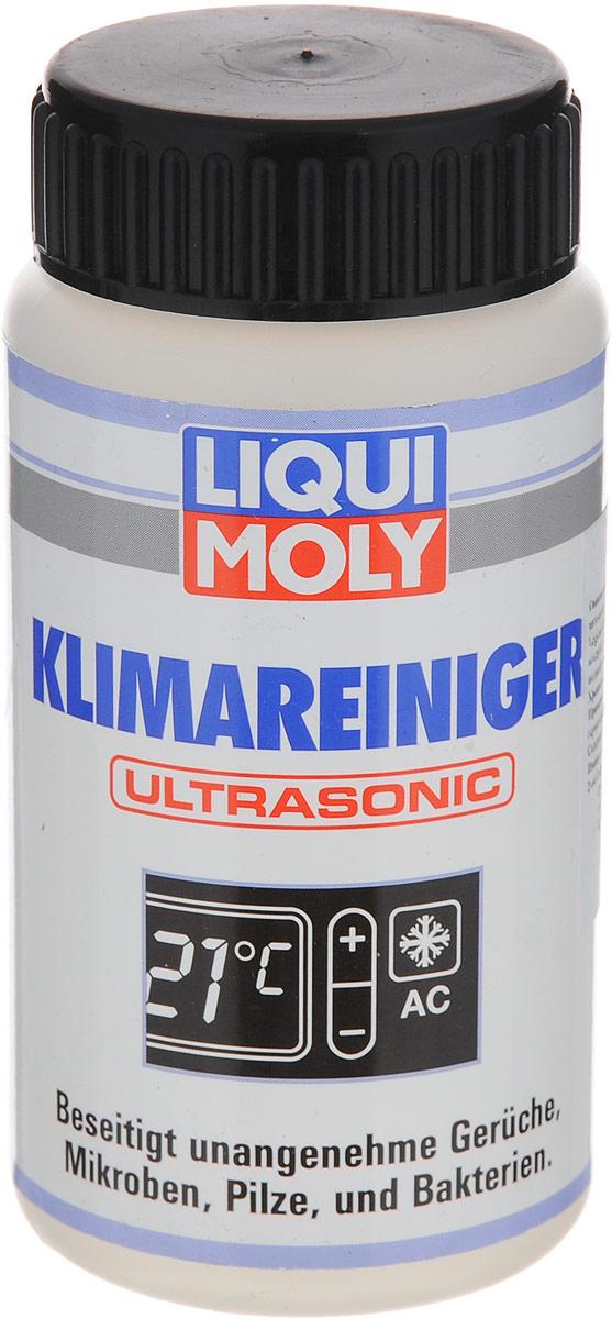 Жидкость для ультразвуковой очистки кондиционера LiquiMoly Klimareiniger Ultrasonic, 100 мл4079Жидкость LiquiMoly Klimareiniger Ultrasonic предназначена для ультразвуковой очистки кондиционера. Она легко и быстро (около 10 минут) освобождает всю систему вентиляции легковых автомобилей, грузовиков, автобусов и другой автотехники от микробов, грибков и бактерий. Устраняет неприятные запахи в салоне автомобиля, обеспечивает подачу свежего и чистого воздуха, оставляя после применения приятный цитрусовый аромат. Очищающая жидкость создана на водной основе, не токсична и не вызывает аллергии. Товар сертифицирован.