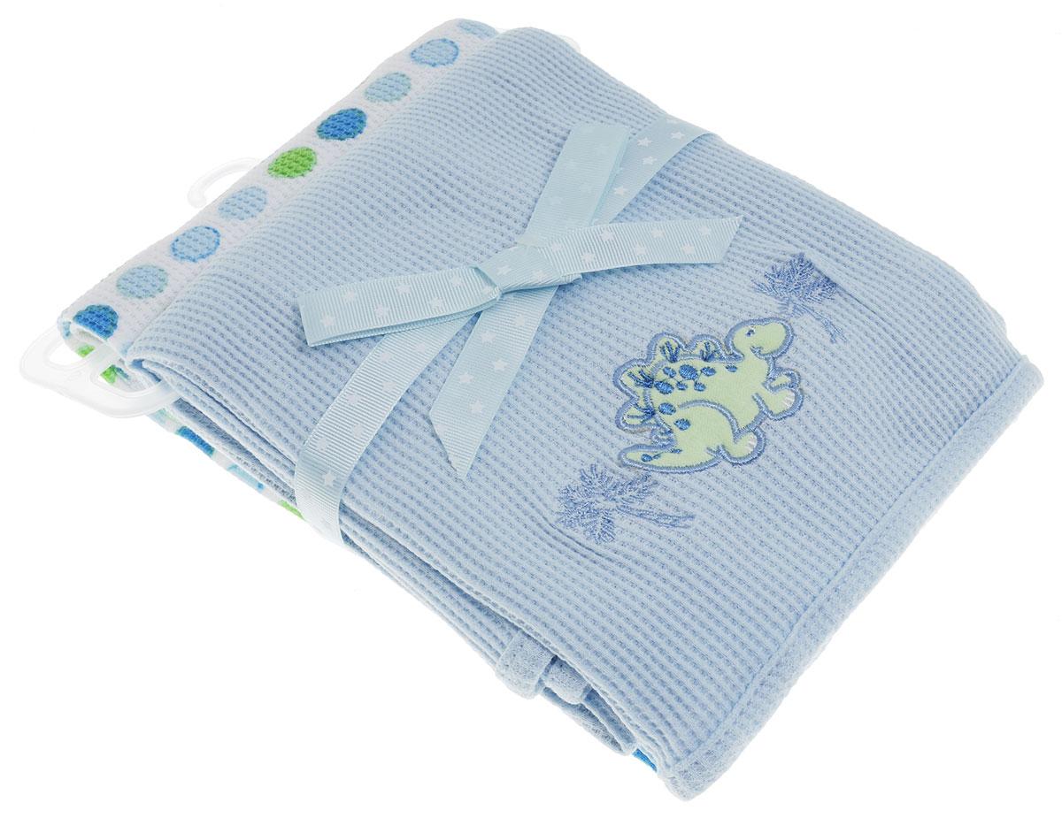 Spasilk Комплект пеленок Дино 76 х 76 см 2 штRB TH 08Трикотажные пеленки Spasilk Дино подходят для пеленания ребенка с самого рождения. Мягкая ткань укутывает малыша с необычайной нежностью. Такая ткань прекрасно дышит, она гипоаллергенна, не теряет своей формы после стирки. Пеленку также можно использовать как легкое одеяло, простынку, полотенце после купания, накидку для кормления грудью. В комплект входят две пеленки. Предварительная стирка обязательна. Стирка при температуре не более 40 °C, гладить при температуре не более 150 °C. Химчистка запрещена, сушка в барабане при более низкой температуре, отбеливать без хлора.