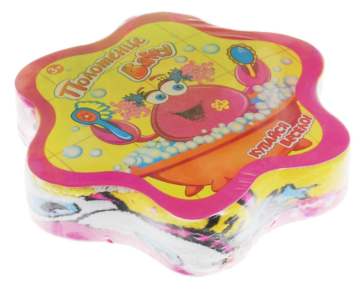 Baffy Полотенце махровое пресованное цвет розовый 30 х 30 смD0110_розовыйЯркое и веселое полотенце Baffy станет незаменимым помощником вашему ребенку после водных процедур! Снимите пленку и намочите полотенце водой, подождите 1 минуту и полотенце примет свою первоначальную форму. Высушите полотенце и используйте по назначению. Полотенце изготовлено из 100 % хлопка. Размер полотенца - 30 см х 30 см. Уход: Стирка в теплой воде при максимальной температуре 40 °С, гладить при низкой температуре (до 110 °С), не отбеливать, не подвергать химчистке, сушить при низкой температуре.