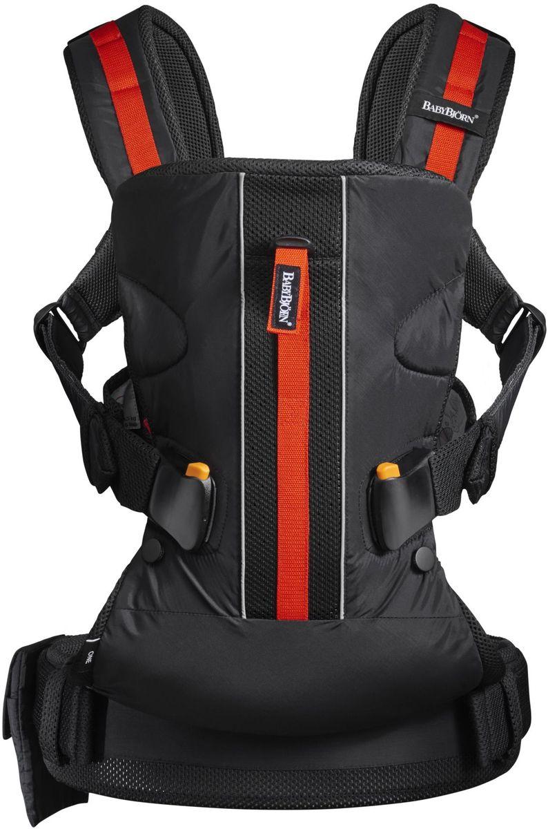 BabyBjorn Рюкзак для переноски ребенка ONE Outdoors цвет черный