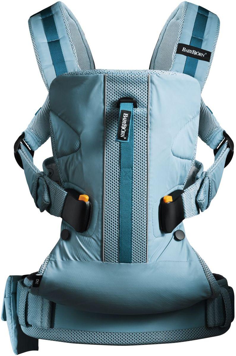 BabyBjorn Рюкзак для переноски ребенка ONE Outdoors цвет бирюзовый