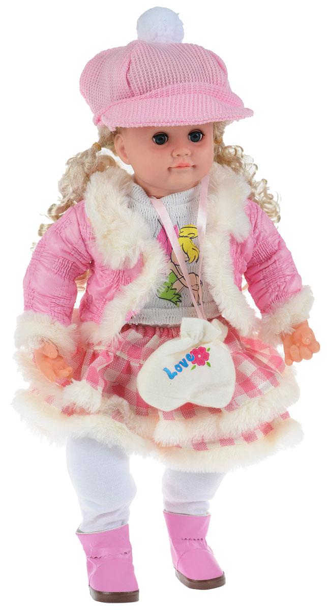 Карапуз Интерактивная кукла Аленка блондинка в юбке и куртке107695 / 5106Интерактивная кукла Карапуз Аленка - великолепная кукла, понимающая вашего ребенка, реагируя на фразы. Она поет песенки, знает стихи, скороговорки, загадки и считалочки. С ней можно играть в 7 различных игр. Игра Алфавит - Аленка произносит все буквы алфавита с паузами, давая время ребенку повторять следом за ней. После того, как Аленка произнесет все буквы, на каждую из них она расскажет маленькое стихотворение. Игра Считалочка - вместе с Аленкой ваша девочка сможет научиться считать, а чтобы цифры лучше запомнились, кукла рассказывает куриную считалочку. Игра Загадки - кукла Аленка знает 7 различных загадок, которые будет вам загадывать. Все загадки предполагают 2 ответа: да или нет. Игра Скороговорки - Аленка знает 2 скороговорки: про Грека и про маленьких чертят. Сначала она предложит вам рассказать скороговорку про Грека, если вы скажете: Нет, то она прочтет скороговорку, про маленьких чертят. Каждую скороговорку Аленка...