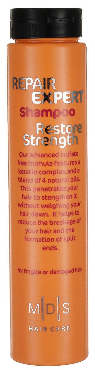 Hair Care Шампунь бессульфатный для поврежденных волос Repair Expert Restore Strength, 250 мл803820Бессульфатный восстанавливающий шампунь для поврежденных и ломких волос. Кератиновый комплекс питает и восстанавливает структуру волос, предохраняя от ломкости. Масло моринга, авокадо, миндаля, рыжиковое масло в комплексе с экстрактами красного дерева и алоэ вера придают гладкость, блеск и мягкость волосам, облегчая расчесывание. Подходит для ежедневного применения. Для поврежденных и окрашенных волос.