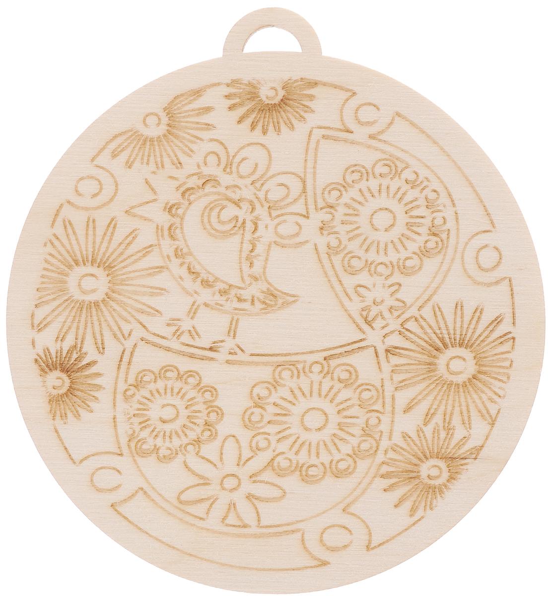 Заготовка деревянная Buratini Подвеска. Весенние напевы, диаметр 9,2 смDZ10017_кругЗаготовка Buratini Подвеска. Весенние напевы изготовлена из самого легкого материала для работы - фанеры. В ней прекрасно сочетаются пластичность форм, линий и художественная выразительность. Благодаря таким качествам заготовки, вы можете реализовать свои самые смелые творческие фантазии: оформить ее в технике декупаж, расписать красками, украсить мозаикой, пайетками, лентами или бисером.
