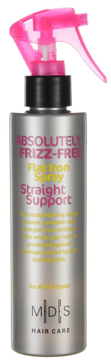 Hair Care Спрей для волос Absolutely Anti-Frizz Straight Support выпрямляющий с эффектом утюжка, 200 мл803809Выпрямляющий спрей с эффектом утюжка. Защищает волосы при температуре до 220С. Экстракт кукурузы придает гладкость и не дает волосам пушиться. Про-витамин В5, экстракты кукурузы и огурца восстанавливают водный баланс. Волосы идеально распрямлены и вытянуты. Подходит для ежедневного применения. Для сухих волос.