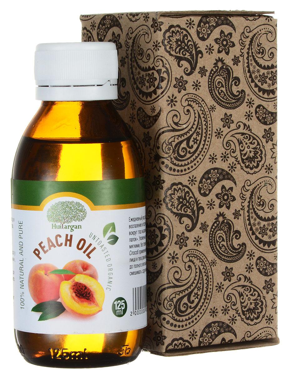 Huilargan Персиковое масло, 100% натуральное, 125 мл2000000009285Масло персика (Peach oil) применяется для ухода за кожей лица и кожей вокруг глаз, телом, волосами, губами. Персиковое масло способствует профилактике и устранению воспалительных реакций и быстрому росту ногтей, делает их крепкими, прозрачными, блестящими. Персиковое масло - лучшее средство для сухой кожи лица - прекрасно впитывается и придает свежесть, а также: - регенерирует - смягчает - восстанавливает - омолаживает - тонизирует - увлажняет Ежедневный уход за веками снимет их воспаление и отсрочит появление вокруг глаз выраженных «гусиных лапок». Ухоженные губы будут яркими, мягкими, без трещин и шероховатостей. Способ применение: наносить на кожу лица и тела равномерными движениями до полного впитывания. Можно смешивать с другими маслами.