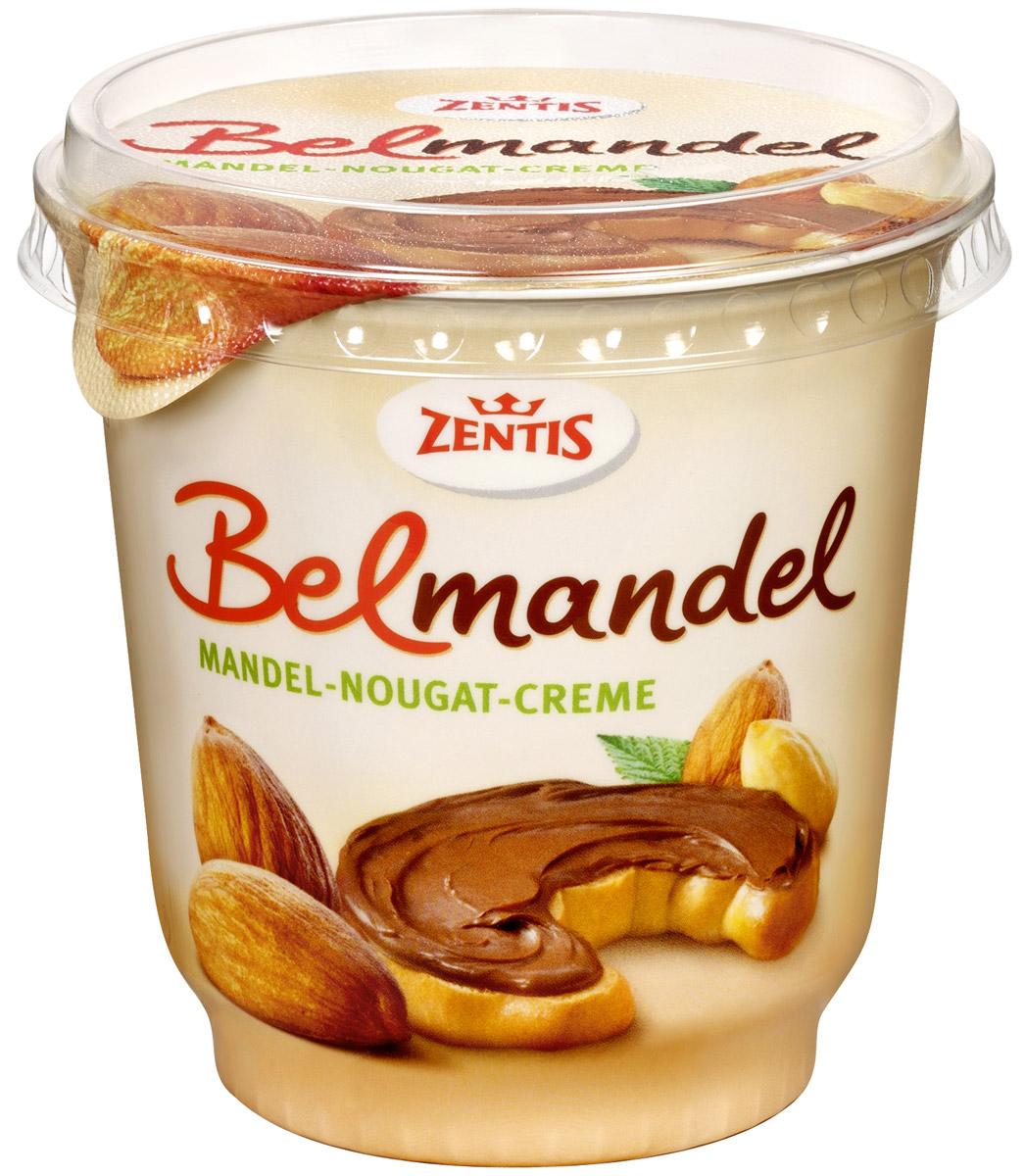 Zentis Belmandel шоколадная паста с миндалем и какао, 400 гЦп 364080Шоколадная паста Zentis Belmandel - это вкусное лакомство для всей семьи, которое отлично подойдет для завтрака. Паста производится из шоколада и масла с добавлением миндаля. Имеет густую однородную консистенцию. Шоколадную пасту можно намазывать на хлеб, а также использовать для приготовления тортов, пирожных, бисквитов, в качестве начинки для блинов, прекрасно подойдет для мороженого.