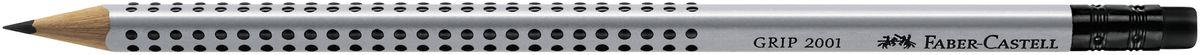 Faber-Castell Карандаш чернографитовый Grip 2001 117200117200Чернографитовый карандаш с ластиком Faber-Castell Grip 2001 станет незаменимым атрибутом для учебы или работы. Карандаш оснащен эргономичной трехгранной формой с запатентованной технологией GRIP, представляющей собой антискользящую зону захвата с малыми массажными шашечками. Качественная мягкая древесина карандаша идеальна для хорошего затачивания, а специальная SV технология вклеивания грифеля предотвращает поломку грифеля при падении на пол. Карандаш покрыт лаком на водной основе в целях защиты окружающей среды.
