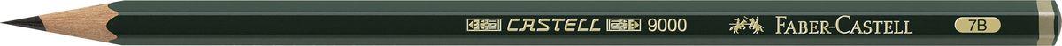 Faber-Castell Карандаш чернографитный Castell 9000 твердость 7B119007Faber-Castell Castell 9000 - шестигранный графитный карандаш наивысшего качества с долголетней традицией. Пригоден не только для письма, но и для эскизов и рисования. Покрыт лаком на водной основе в интересах защиты окружающей среды. Специальная SV технология вклеивания грифеля предотвращает его поломку при падении. Высокое качество мягкой древесины обеспечивает легкое затачивание.
