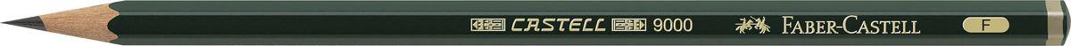 Faber-Castell Чернографитовый карандаш CASTELL 9000 твердость F