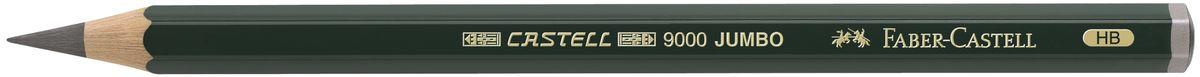 Faber-Castell Карандаш чернографитовый Castell 9000 Jumbo 119300119300Чернографитовый карандаш Faber-Castell Castell 9000 Jumbo предназначен не только для письма, но и для эскизов и рисования. Специальная SV технология вклеивания грифеля предотвращает его поломку при падении, а высокое качество мягкой древесины обеспечивает легкое затачивание. Такой карандаш с чистым графитом не царапает бумагу, ровно и гладко ложится, хорошо штрихует, передавая воздушность и светотени.