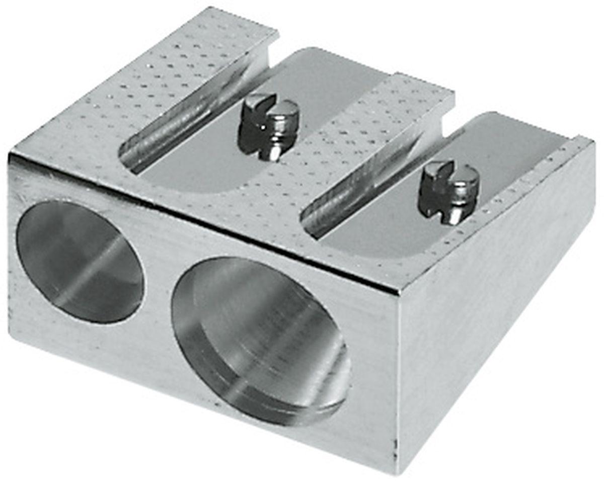 Faber-Castell Точилка 2 отверстия183400Металлическая точилка Faber-Castell - качественная простая точилка с двумя отверстиями. Подходит для всех типов карандашей.