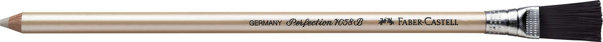 Faber-Castell Корректор-карандаш Perfection185800Корректирующий карандаш Faber-Castell из серии Perfection отлично подойдет для точного стирания мелких деталей. Корректор легко справляется с любыми следами графитовых и цветных карандашей. Правильный подбор корректора и, разумеется, его качество имеет решающее значение для достижения нужного результата. Корректор не содержит вредных для здоровья дополнительных размягчителей. Тем не менее, благодаря сбалансированному сочетанию компонентов, стирает мягко, не размазывая при этом карандаш или чернила.