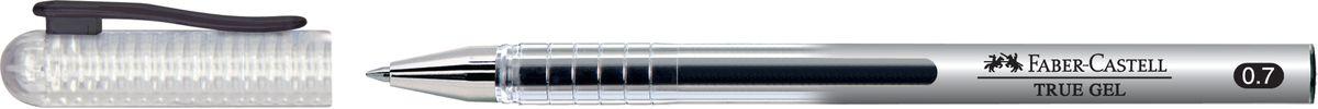 Faber-Castell Роллер True Gel 0 7 мм черный243899• наконечник 0.7 мм • очень мягкое письмо • водостойкие и светостойкие чернила • пригодны для письма на документах • эргономичная зона захвата • колпачок с упругим клипом